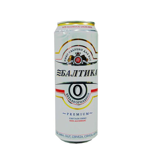 نوشیدنی بدون الکل بالتیکا 500 میلی baltika