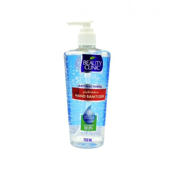 ژل ضدعفونی دست sanitizer 250 beauty clinic