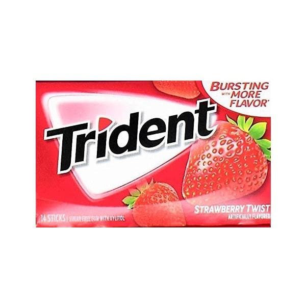 آدامس تریدنت توت فرنگی