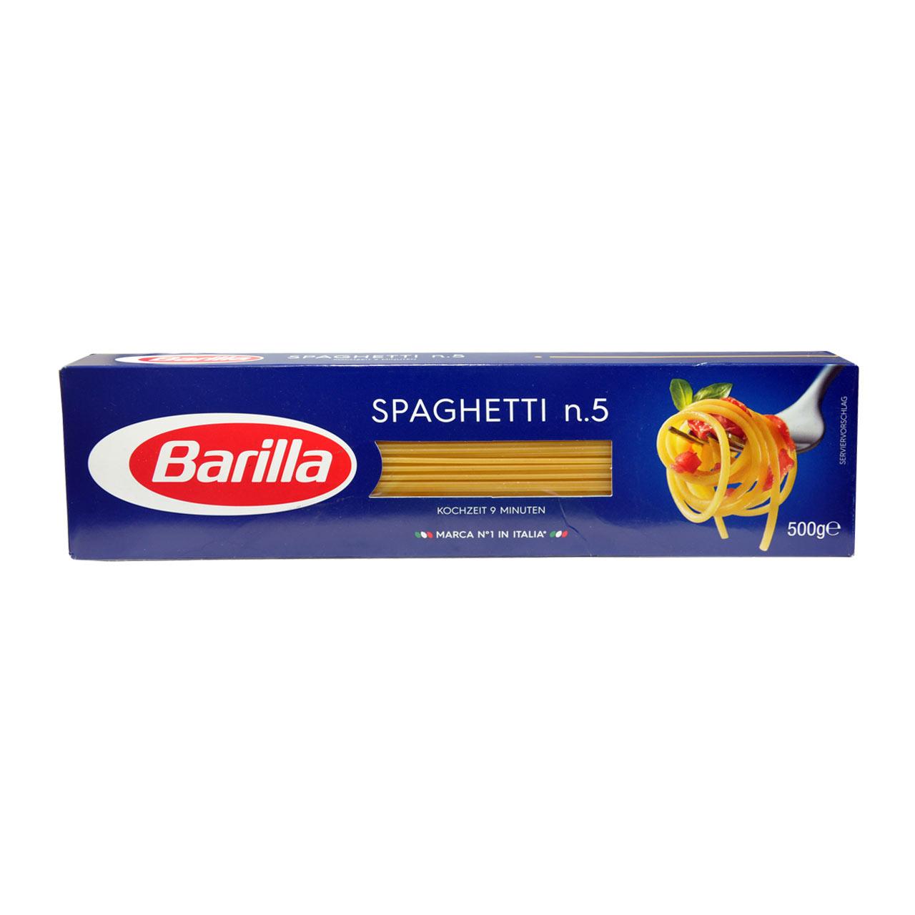 اسپاگتی نازک n.5 باریلا 500 گرمی Barilla