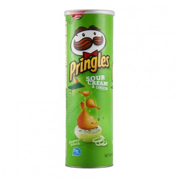 چیپس پرینگلز خامه ترش و پیاز