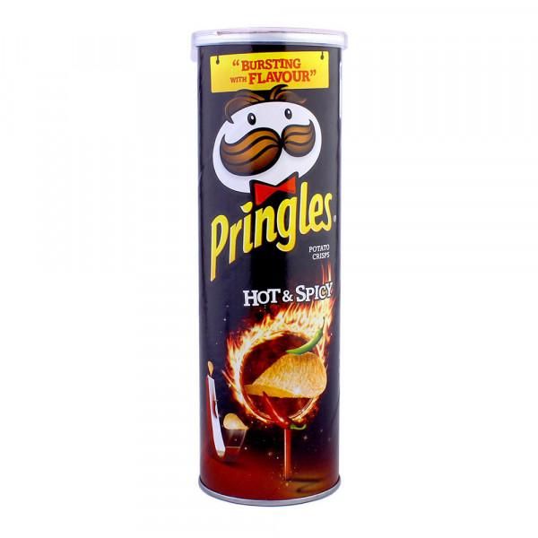 چیپس پرینگلز فلفلی خیلی تند