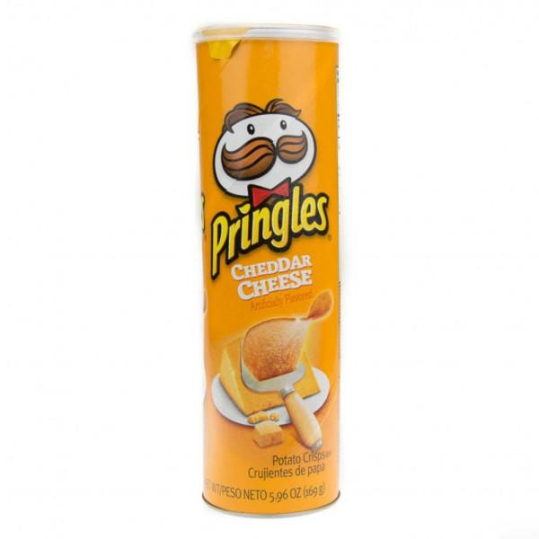 چیپس پرینگلز پنیر چدار
