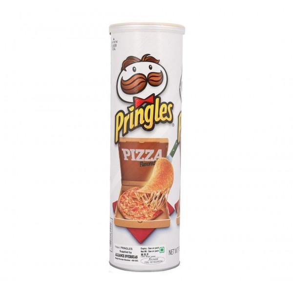 چیپس پرینگلز پیتزا