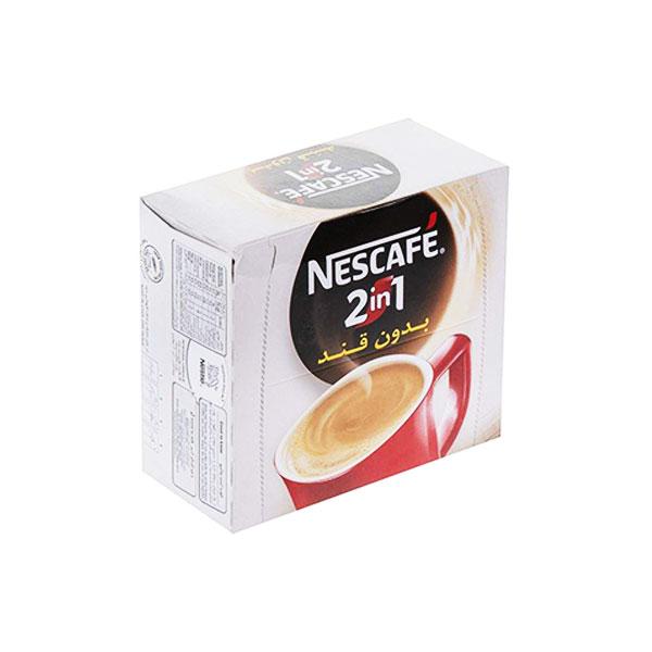 نسکافه 2 در 1 بدون قند رژیمی 20 عددی Nescafe