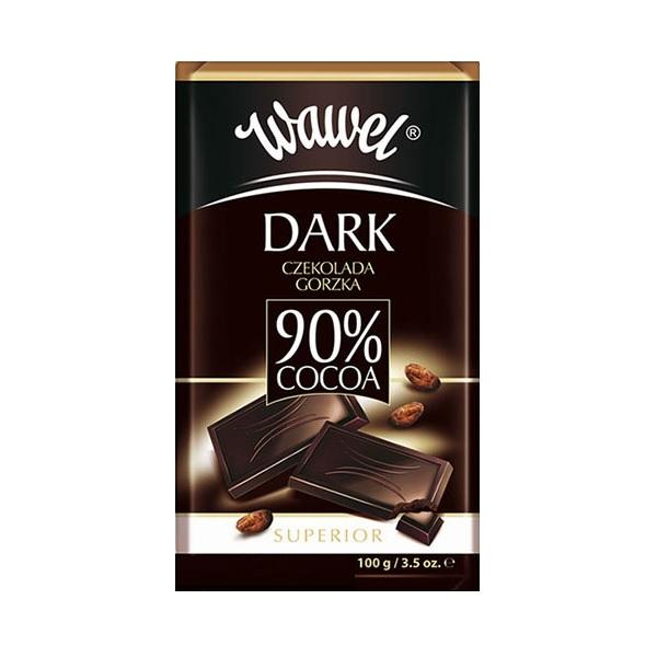 تابلت شکلات تلخ 90% واول