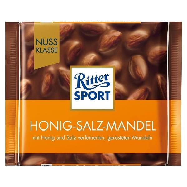 شکلات بادام عسلی نمکی ریتر اسپرت