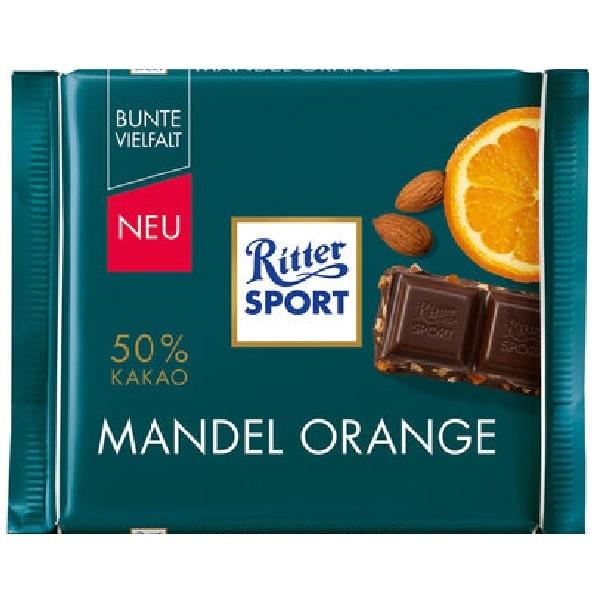 شکلات بادام و پرتقال ریتر اسپرت