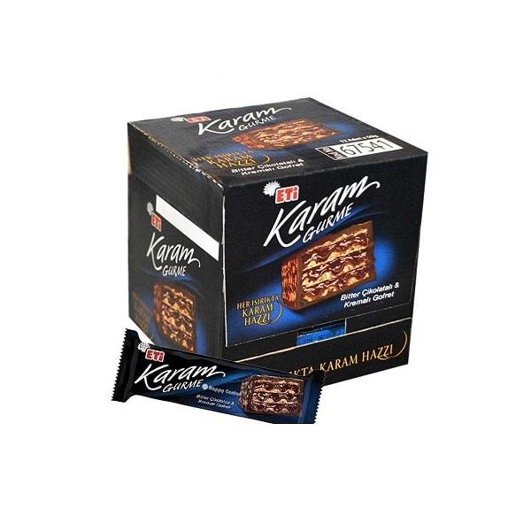 ویفر اتی کارام با طعم شکلات تلخ 24 عددی