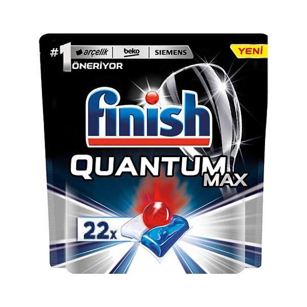 قرص ماشین ظرفشویی فینیش کوانتوم مکس 22 عددی