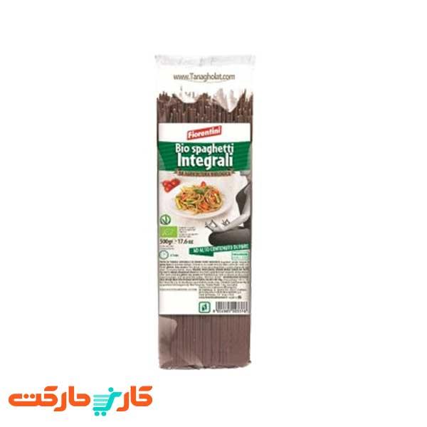 اسپاگتی گندم کامل ارگانیک بدون گلوتن فیورنتینی – 500 گرم
